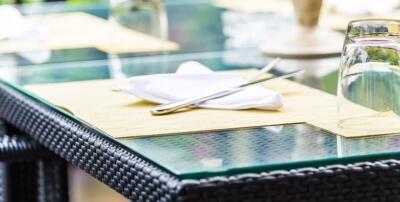 Glasplaat voor tafelblad